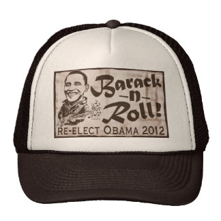 Barack and Roll Obama 2012 Gear Hat