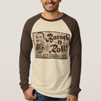 Barack and Roll Obama 2012 Gear T-Shirt