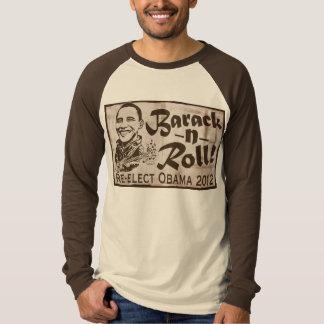 Barack and Roll Obama 2012 Gear Tee Shirt