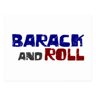 Barack And Roll Post Cards