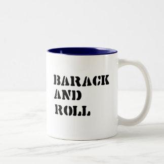 Barack and Roll T-shirt Coffee Mug
