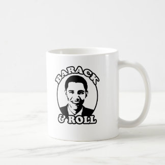 """Barack and Roll"" T-shirts and gifts Coffee Mug"