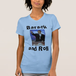 Barack and Roll Tank Tops