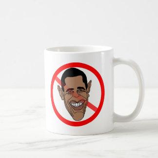 Barack anti Hussein Obama Taza De Café
