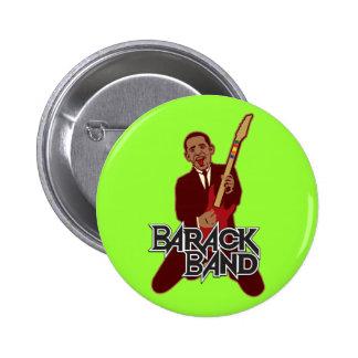 Barack Band Pinback Button