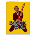 Barack Band Greeting Cards