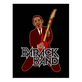 Barack Band Postcard