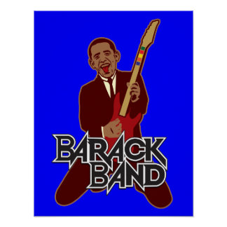 Barack Band Print