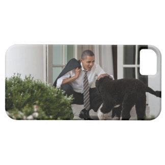 Barack & Bo Obama iPhone 5 Cover