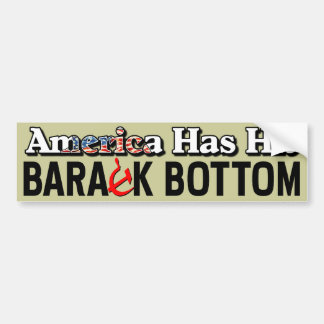 Barack Bottom! Bumper Sticker
