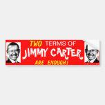 Barack Carter Bumper-Sticker Car Bumper Sticker