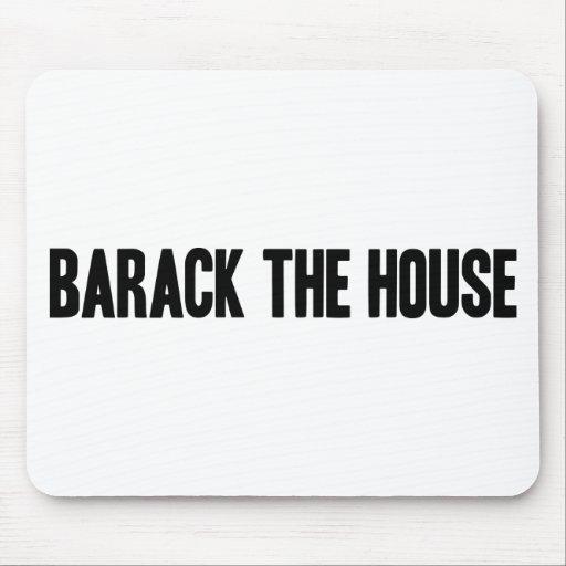 Barack el cojín de ratón de casa tapetes de ratones