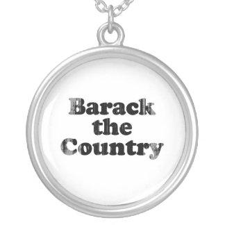 Barack el país Faded.png Colgante Redondo