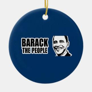 Barack el parachoque 5.png de Obama de la gente Ornamento Para Reyes Magos