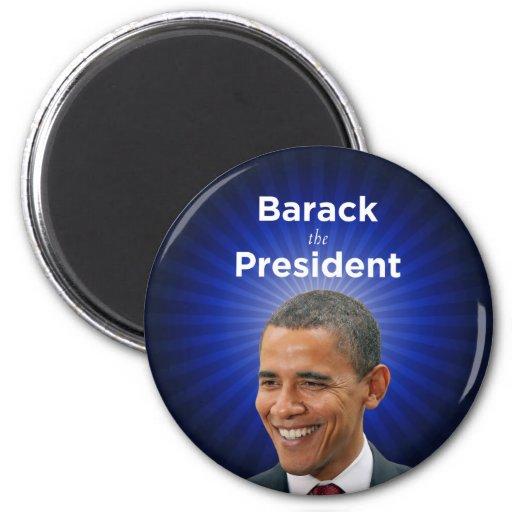 Barack el presidente Obama Magnet Imán Redondo 5 Cm