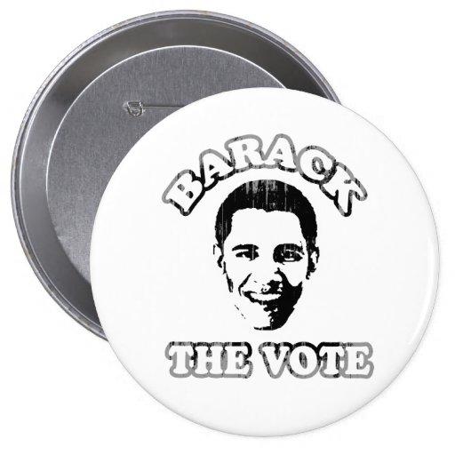 Barack el voto Vintage.png Pins