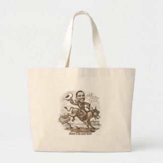 Barack en la silla de montar 2012 bolsas