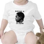 Barack es los niños de la bomba trajes de bebé