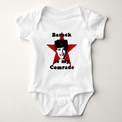 Barack es mi camarada tee shirt
