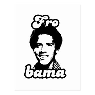 Barack Frobama Post Card