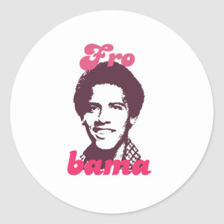 Barack Frobama Round Sticker