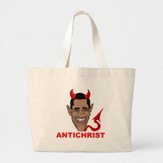 Barack Hussein Obama: AntiChrist Bolsa De Mano