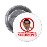Barack Hussein Obama Countdown Pins