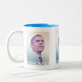 Barack Hussein Obama Dishonest Pinocchio Mug
