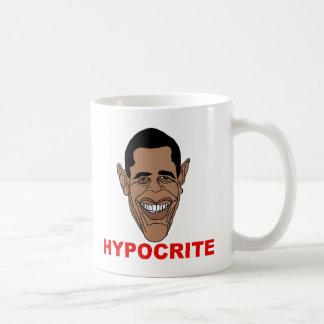 Barack Hussein Obama=Hypocrite Mug