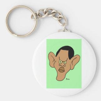 Barack Hussein Obama Llavero Redondo Tipo Pin