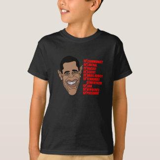 Barack Hussein Obama's List of Qualifications T-Shirt