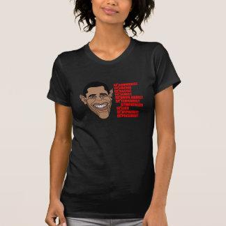 Barack Hussein Obama's List of Qualifications T Shirt