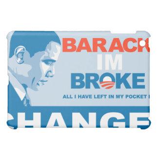 Barack in Broke iPad Mini Cases