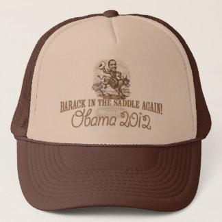 Barack in the Saddle 2012 Trucker Hat