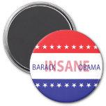 Barack Insane Obama Fridge Magnets