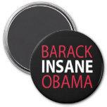 Barack Insane Obama Magnet