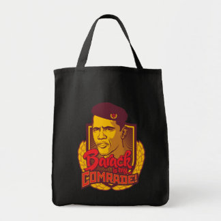 Barack Is My Comrade Tote Grocery Tote Bag