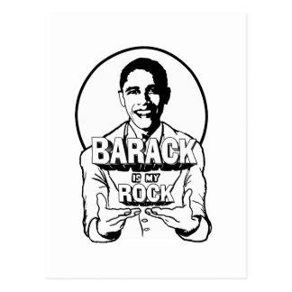 Barack is my Rock Postcard