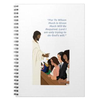Barack Jesus Products Notebook