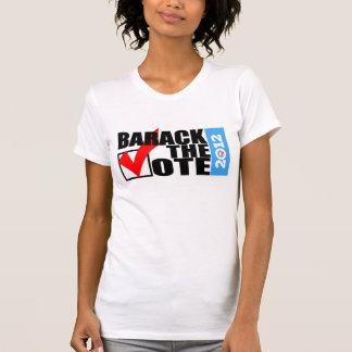 Barack la camiseta de las mujeres originales del