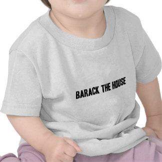 Barack la camiseta del bebé de la casa