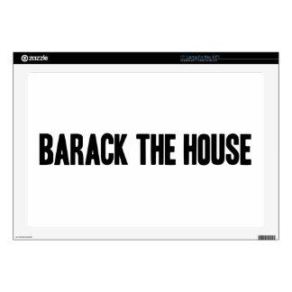 Barack la piel del top del revestimiento de la cas skins para 43,2cm portátiles