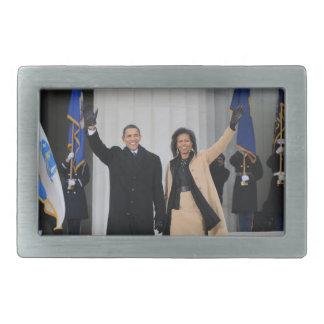 Barack & Michele Obama Belt Buckles