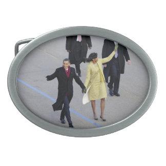 Barack & Michele Obama Oval Belt Buckles