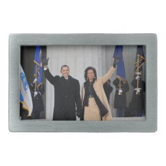 Barack & Michele Obama Belt Buckle