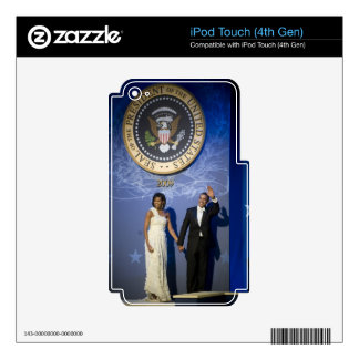 Barack & Michele Obama iPod Touch 4G Decal