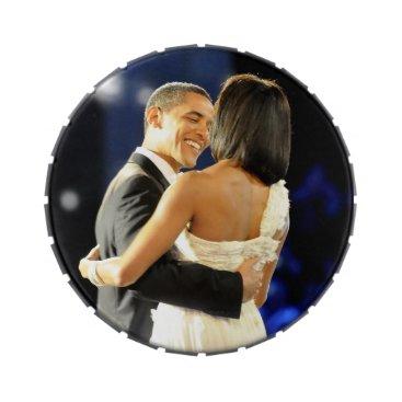 USA Themed Barack & Michele Obama Jelly Belly Tins