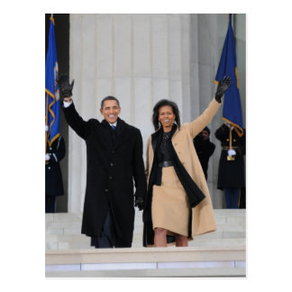 Barack & Michele Obama Postcard