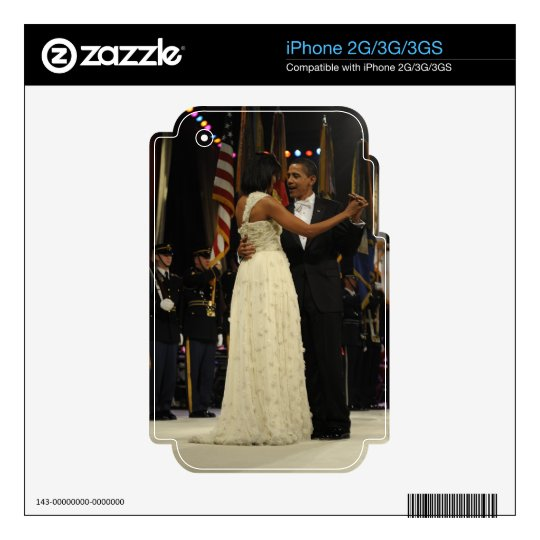 Barack & Michele Obama Skin For The iPhone 3GS