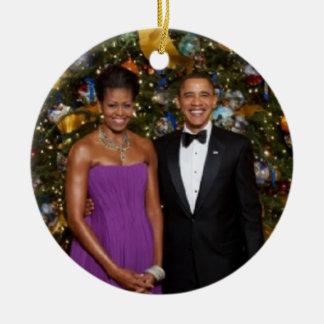 Barack & Michelle 2009 - Ornament